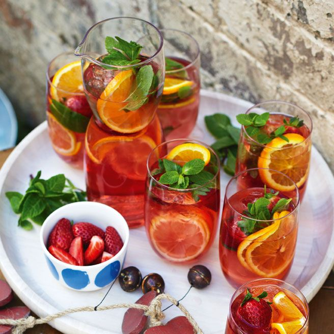 Pretty in Pink... Sangria
